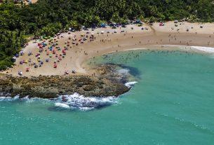 Praia de Coqueirinho, Conde - Foto : Marco Pimentel